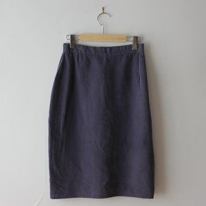 Vintage Purple Skirt Made in Canada